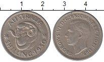 Изображение Монеты Австралия 1 шиллинг 1950 Серебро XF