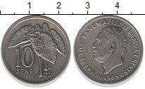 Изображение Монеты Самоа 10 сене 1996 Медно-никель UNC-
