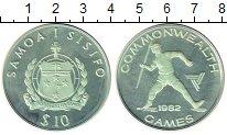 Изображение Монеты Самоа 10 долларов 1982 Серебро Proof