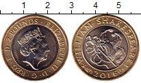 Изображение Монеты Великобритания 2 фунта 2016 Биметалл UNC-