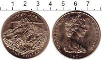Изображение Монеты Новая Зеландия 1 доллар 1970 Медно-никель UNC-