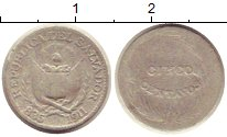 Изображение Монеты Сальвадор 5 сентаво 1911 Серебро VF