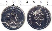 Изображение Монеты Канада 1 доллар 1998 Серебро UNC-