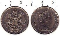 Изображение Монеты Канада 50 центов 1984 Медно-никель UNC- Елизавета II