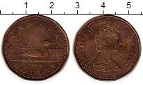 Изображение Монеты Канада 1 доллар 1988 Латунь XF