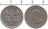 Изображение Монеты Кения 50 центов 1978 Медно-никель UNC-