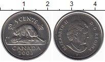 Изображение Монеты Канада 5 центов 2003 Медно-никель UNC-