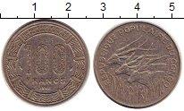 Изображение Монеты Конго 100 франков 1982 Медно-никель XF