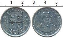 Изображение Монеты Маврикий 1 рупия 1993 Медно-никель UNC-