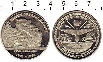 Изображение Монеты Маршалловы острова 5 долларов 1991 Медно-никель UNC- Вторая мировая война