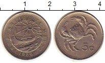 Изображение Монеты Мальта 5 центов 1986 Медно-никель UNC-