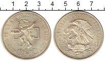 Изображение Монеты Мексика 25 песо 1968 Серебро UNC- Олимпиада 68