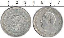 Изображение Монеты Мексика 5 песо 1957 Серебро UNC-