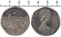 Изображение Монеты Остров Мэн 50 пенсов 1983 Медно-никель UNC-