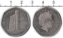 Изображение Монеты Остров Мэн 50 пенсов 2004 Медно-никель UNC-