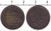 Изображение Монеты Остров Мэн 1 пенни 1992 Бронза UNC-