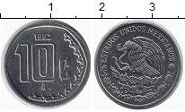 Изображение Монеты Мексика 10 сентаво 1992 Медно-никель UNC-