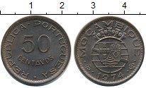 Изображение Монеты Мозамбик 50 сентаво 1974 Бронза XF
