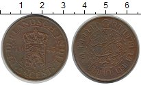 Изображение Монеты Нидерландская Индия 2 1/2 цента 1945 Бронза XF