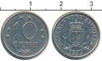Изображение Монеты Антильские острова 10 центов 1977 Медно-никель XF