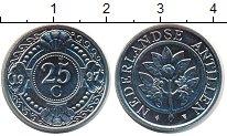 Изображение Монеты Антильские острова 25 центов 1997 Медно-никель UNC-