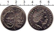Изображение Монеты Новая Зеландия 50 центов 2003 Медно-никель UNC Властелин кольца
