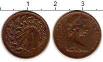 Изображение Монеты Новая Зеландия 1 цент 1973 Бронза XF