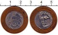 Изображение Монеты Бразилия 1 реал 2010 Биметалл XF