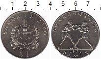 Изображение Монеты Самоа 1 доллар 1974 Медно-никель UNC-