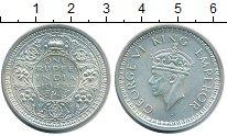 Изображение Монеты Индия 1 рупия 1945 Серебро UNC-