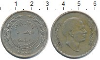 Изображение Монеты Иордания 100 филс 1977 Медно-никель XF