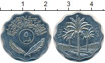 Изображение Монеты Ирак 5 филс 1981 Медно-никель XF Пальмы