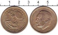 Изображение Монеты Марокко 5 дирхам 1975 Медно-никель UNC-