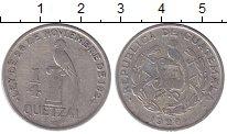 Изображение Монеты Гватемала 1/4 кетцаля 1928 Медно-никель XF