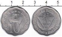 Изображение Монеты Индия 10 пайс 1979 Алюминий UNC-