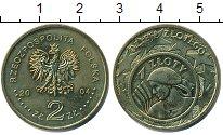 Изображение Мелочь Польша 2 злотых 2004 Латунь UNC-