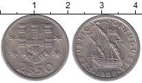 Изображение Монеты Португалия 2 1/2 эскудо 1982 Медно-никель VF