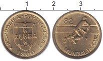 Изображение Монеты Португалия 1 эскудо 1982 Латунь XF