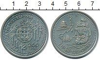 Изображение Мелочь Португалия 200 эскудо 1996 Медно-никель UNC-