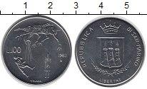 Изображение Монеты Сан-Марино 100 лир 1983 Медно-никель UNC
