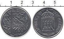 Изображение Монеты Сан-Марино 100 лир 1973 Медно-никель UNC
