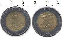 Изображение Монеты Сан-Марино 500 лир 1982 Биметалл UNC-