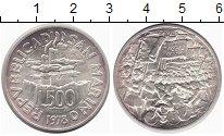 Изображение Монеты Сан-Марино 500 лир 1978 Серебро UNC-