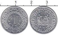 Изображение Монеты Суринам 1 цент 1977 Алюминий UNC- Герб