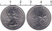 Изображение Монеты США 1/4 доллара 2004 Медно-никель UNC- D   Штаты  и  террит
