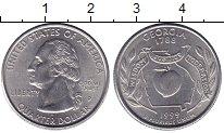 Изображение Монеты США 1/4 доллара 1999 Медно-никель UNC P   Штаты  и  террит