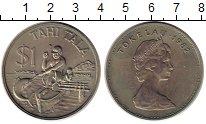 Изображение Монеты Токелау 1 доллар 1982 Медно-никель XF