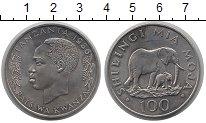 Изображение Монеты Танзания 100 шиллингов 1986 Медно-никель XF