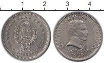Изображение Монеты Уругвай 50 сентесим 1960 Медно-никель XF