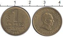 Изображение Монеты Уругвай 1 песо 1998 Латунь XF